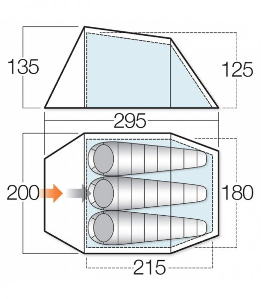 Ark 300 tent layout